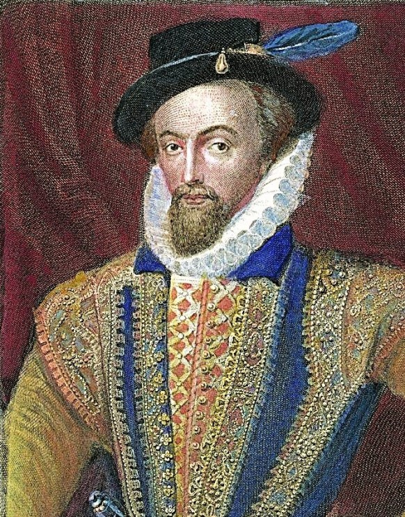 Sir Walter Raleigh Painting; Sir Walter Raleigh Art Print for sale