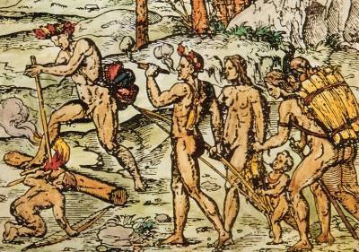 Ureinwohner mit Tabagos
