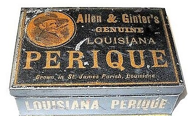 Vintage-Louisiana-Perique-Smoking-Tobacco-Tin-Box-With
